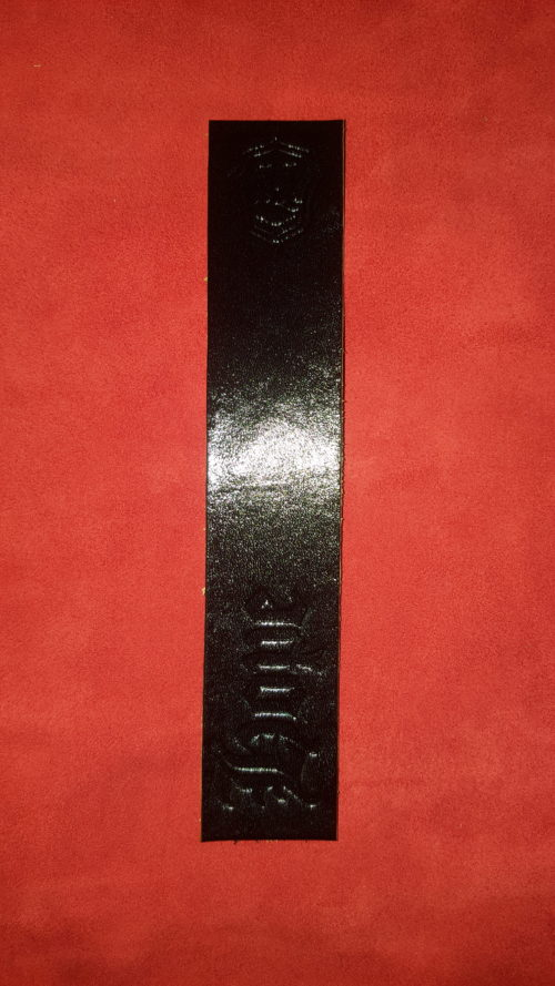 Hope Bookmark - Leather