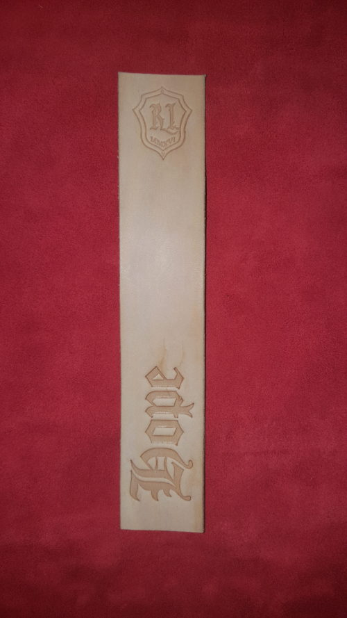 Natural Hope Bookmark - Leather