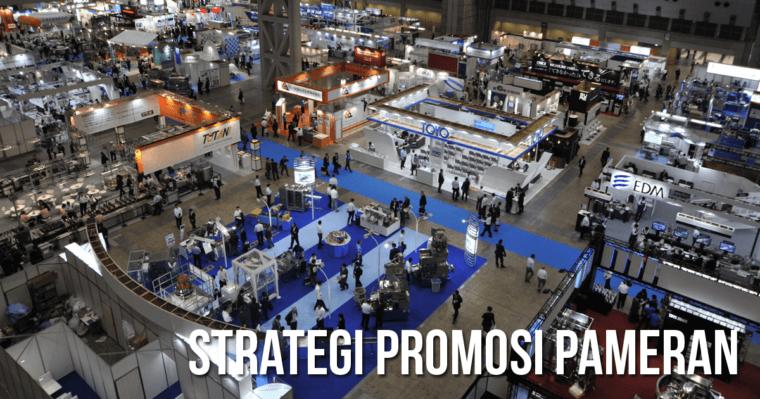 strategi promosi pameran