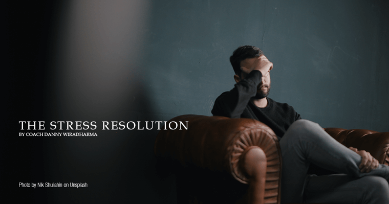 featured image - the stress resolution