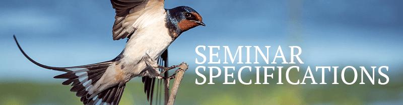 spesifikasi seminar