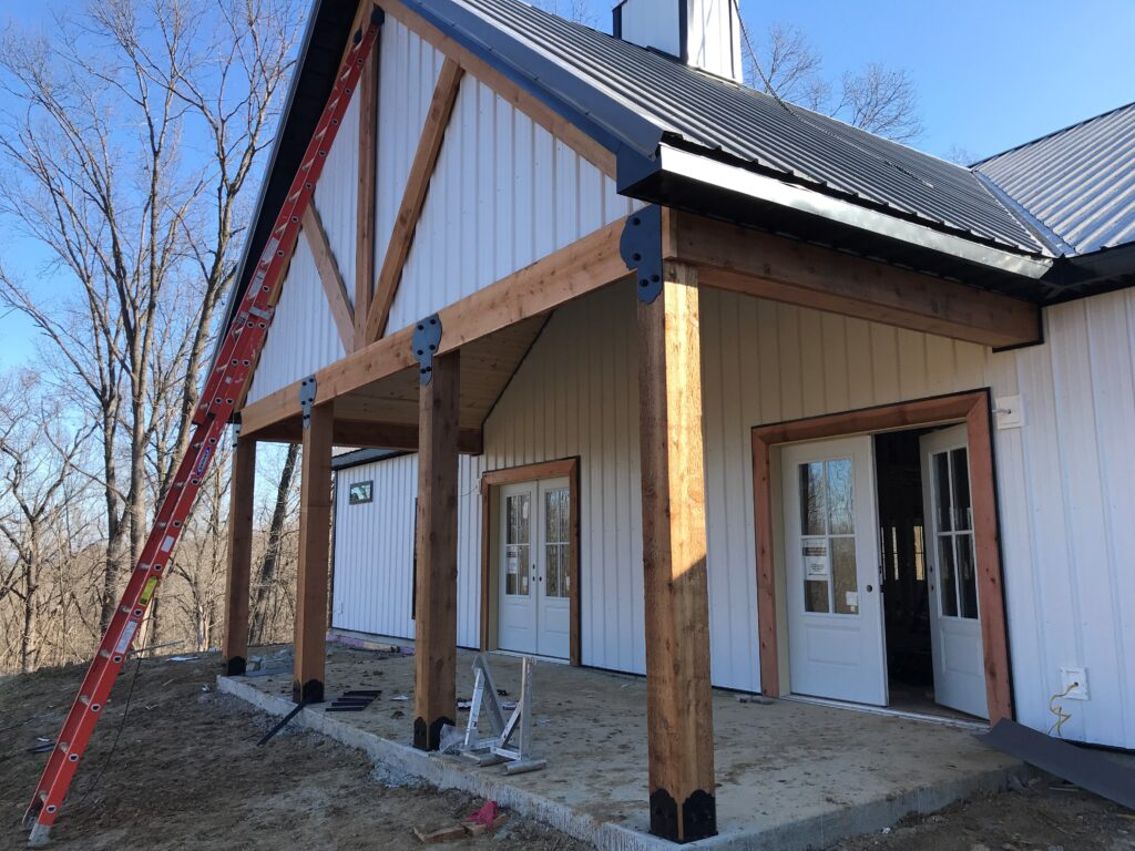 Durabarn Timber Frame Porch