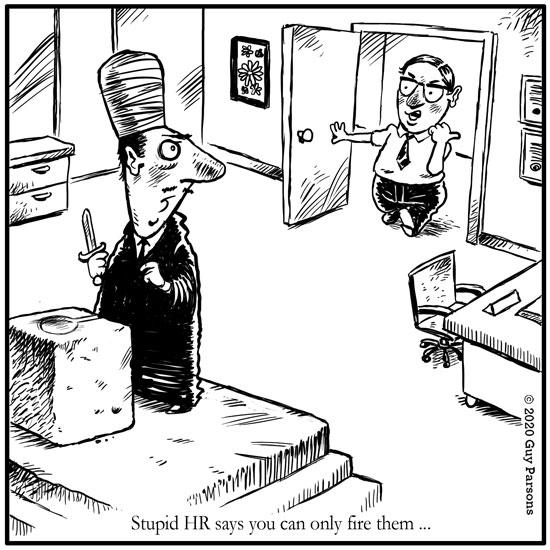 HR cartoon