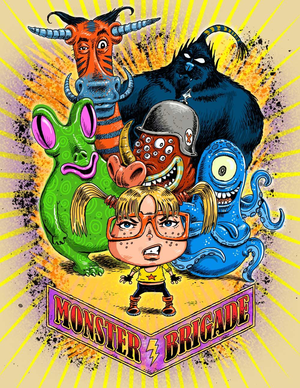 Monster Squad cartoon