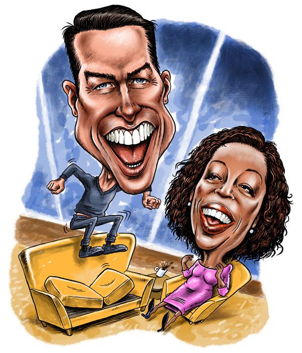 TomCruise and Oprah