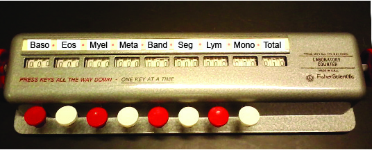 Manual cell counter