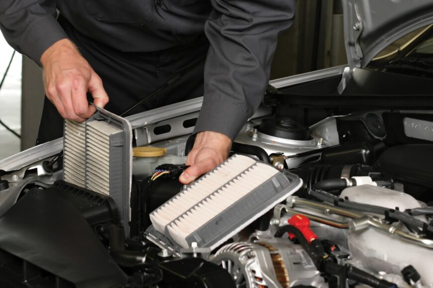 Car Cabin Air Filter Change Service in Los Angeles