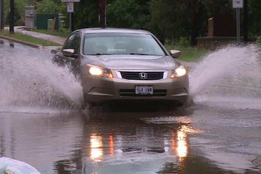 How to Drive in Flooded Roads?