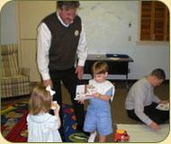 Children at Bible School
