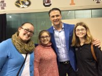 KYL Students & Volunteer with UK Coach Matthew Mitchell