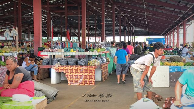 where to shop fresh produce in Apia