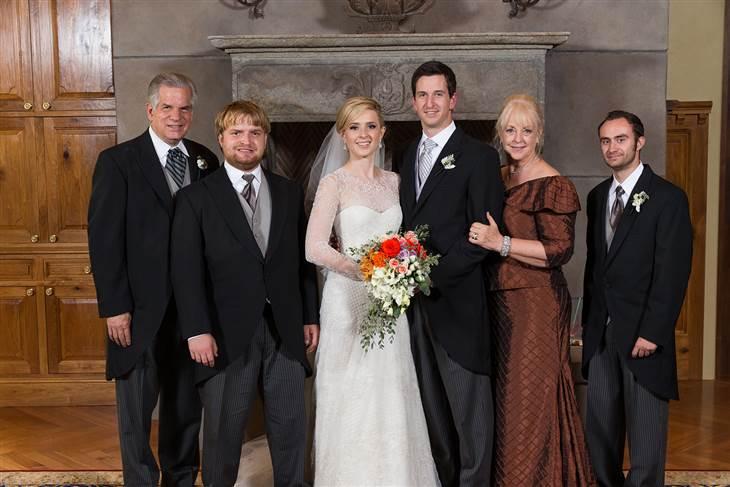 lauren prince wedding day