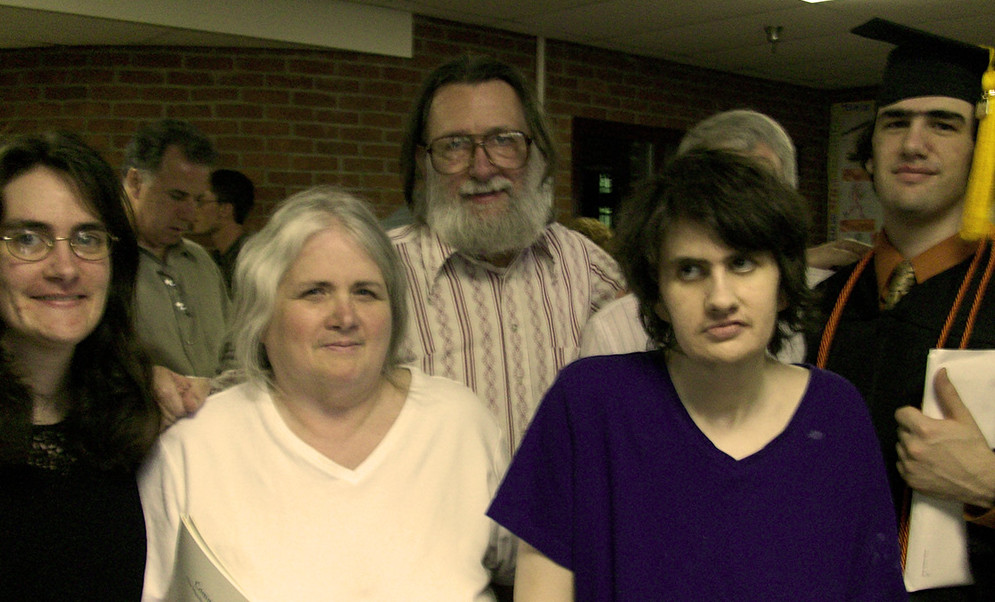 bill boutin and family 2004