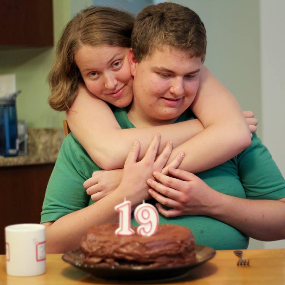 Brother Drew's birthday
