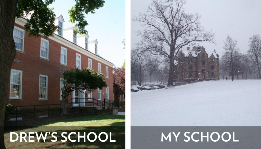 Back to school Drew's and Mine