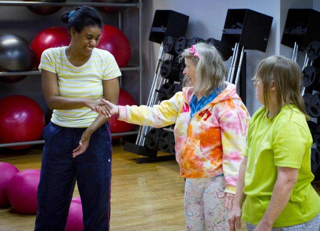 The SPIRIT Club offers many avenues for exercise in both individual and group settings.