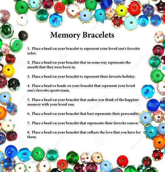 memory bracelets