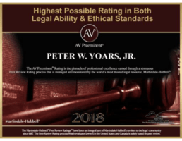 Highest Possible Rating in Both Legal Ability and Ethical Standards