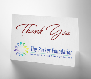 Gratitude: The Parker Foundation
