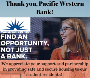 Gratitude: Pacific Western Bank