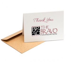 Gratitude: The Bravo Foundation
