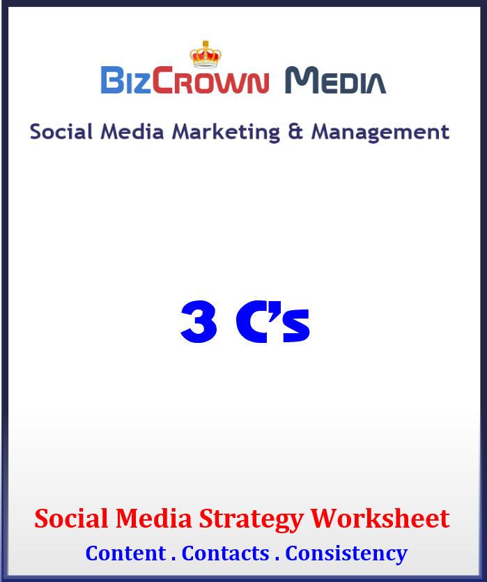 Download a strategy worksheet and create your social media business strategy today!
