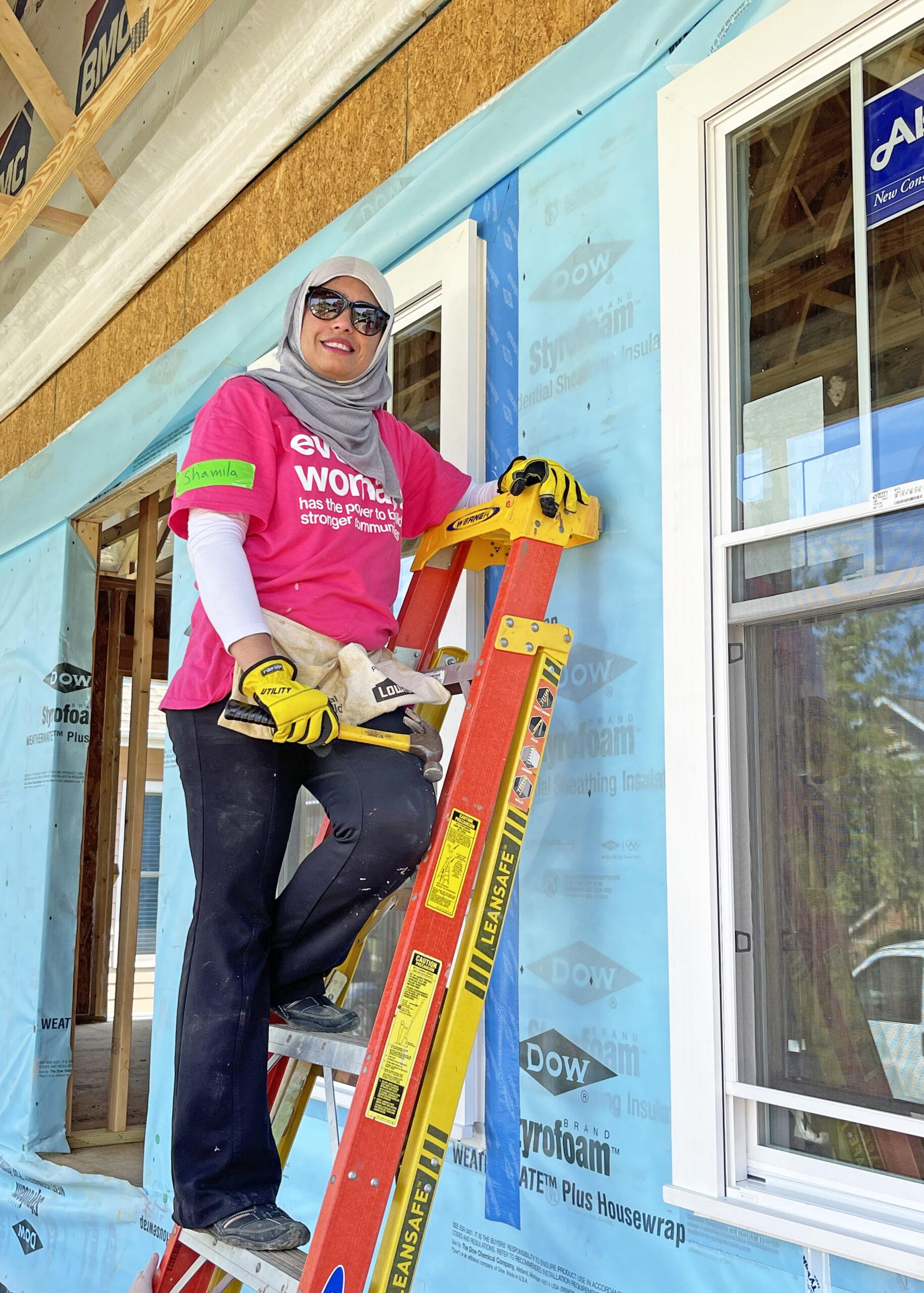 Women Build 2021 Team Muslims of the Triad