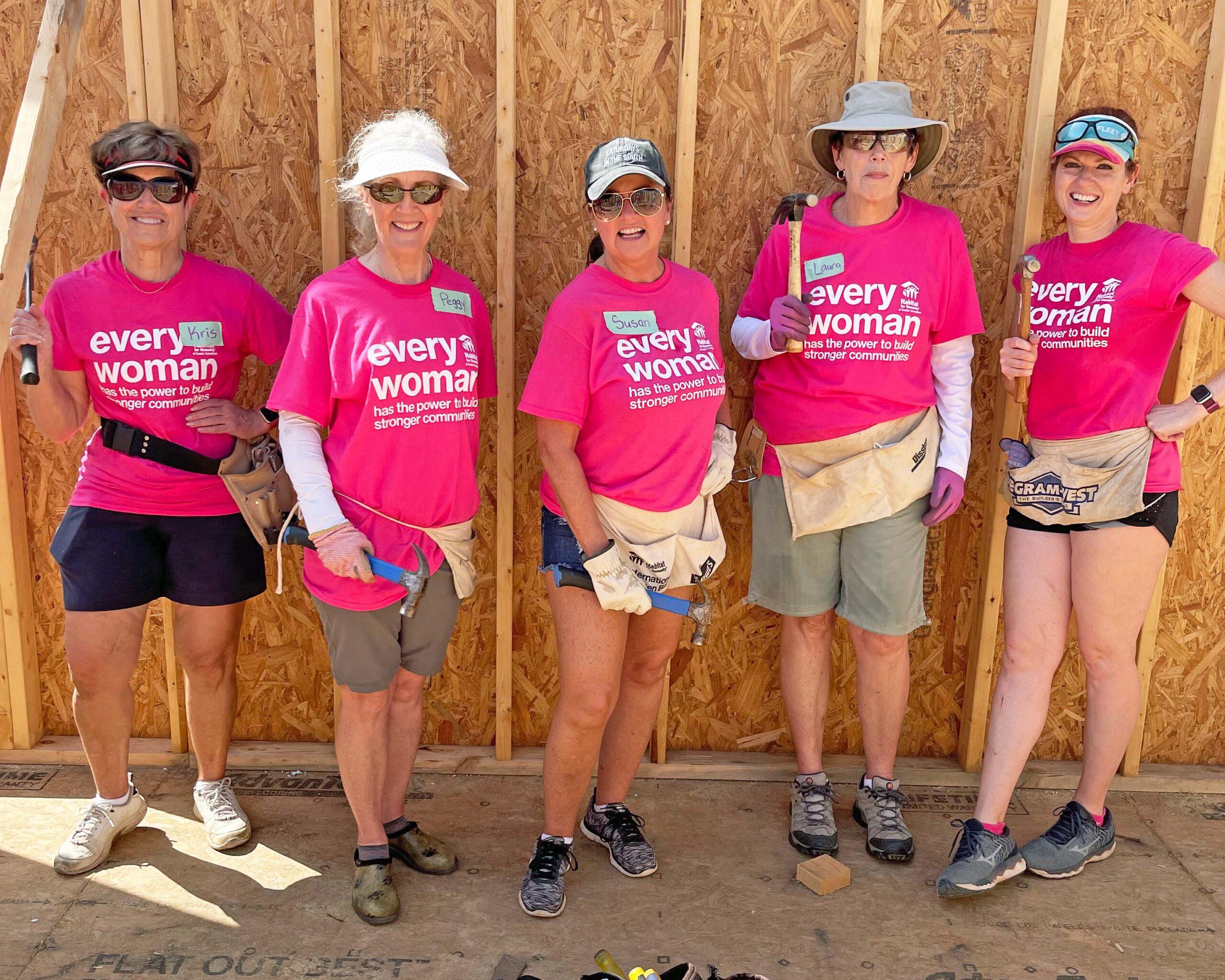 Women Build 2021 Team WPF