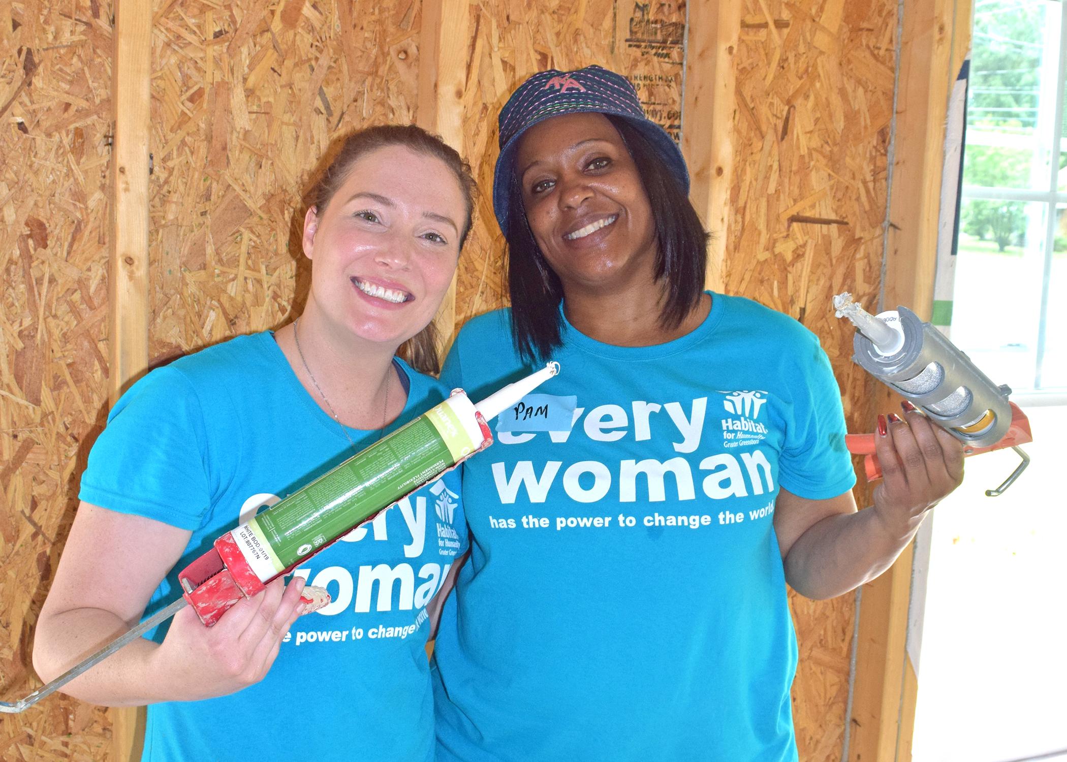 Women Build Volunteers