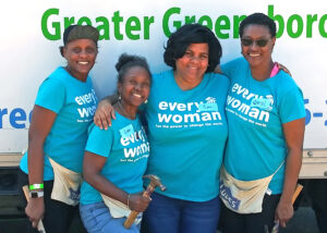 Calvary Christian Women Build Volunteers