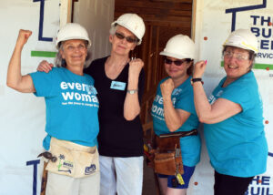 Team Trudy Women Build Volunteers