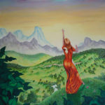 "The Blessing of the Bright Land  --  Size: 48"" x 72"""