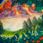 "Sunrise Hill  --  Size: 48"" x 66"""