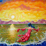 "And The Spirit Moves On The Face Of the Water  --  Size: 41"" x 72"""