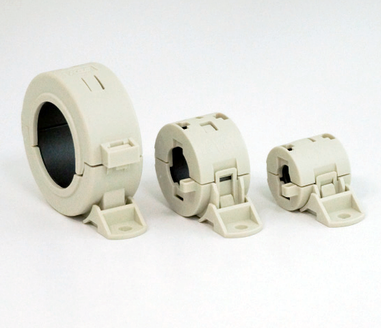 Round Cable Ferrite Cores (Clamp-Type)