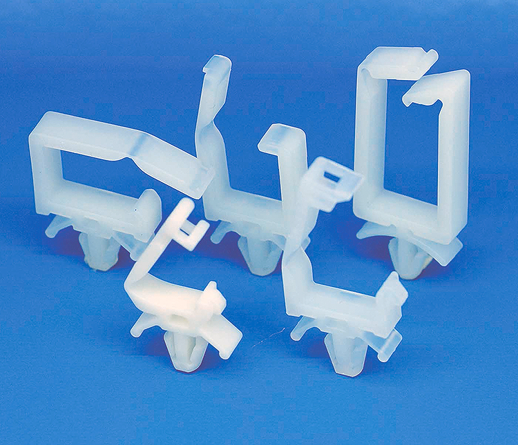 Plastic Clamp: Locking Wire Saddle - LWS-S Series