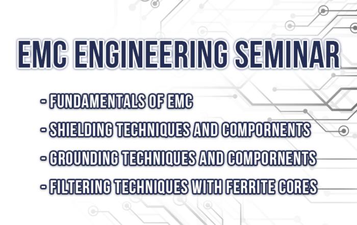 EMC Engineering Seminar