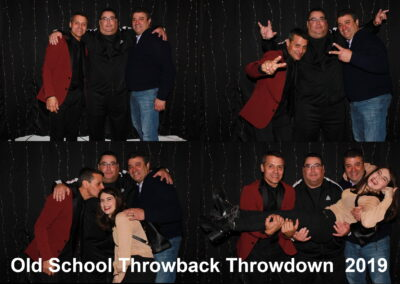 Mia and Her Uncles Photobooth