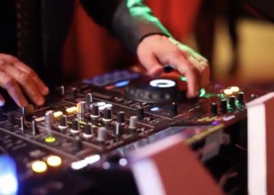 DJ Angelo mixing on the XDJ-RX2