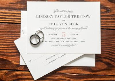 Treptow Von Beck Invitation