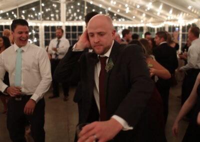 Kevin Jammin on the dancefloor