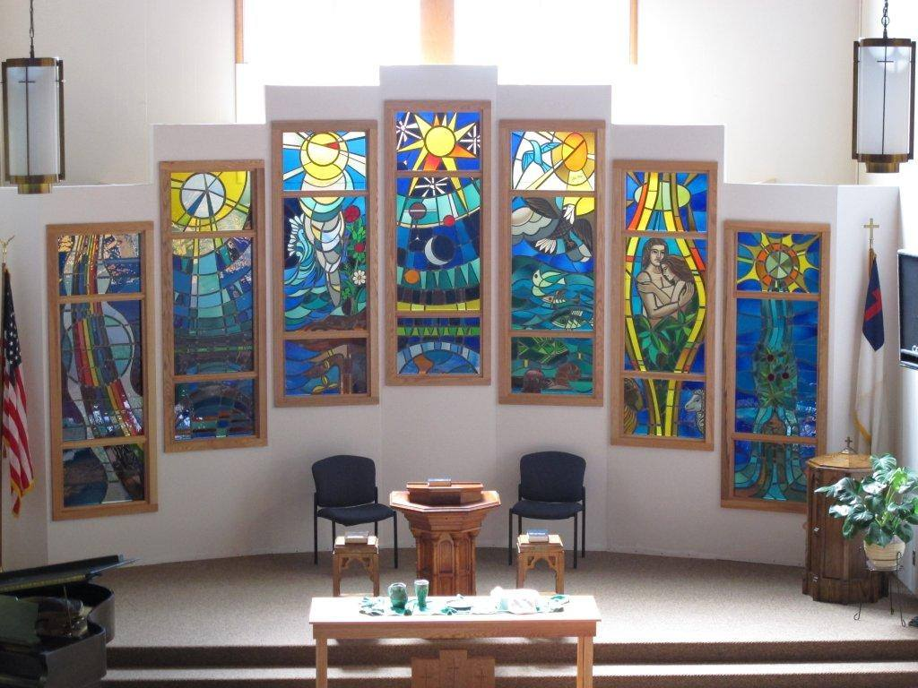 Sanctuary Stained Glass