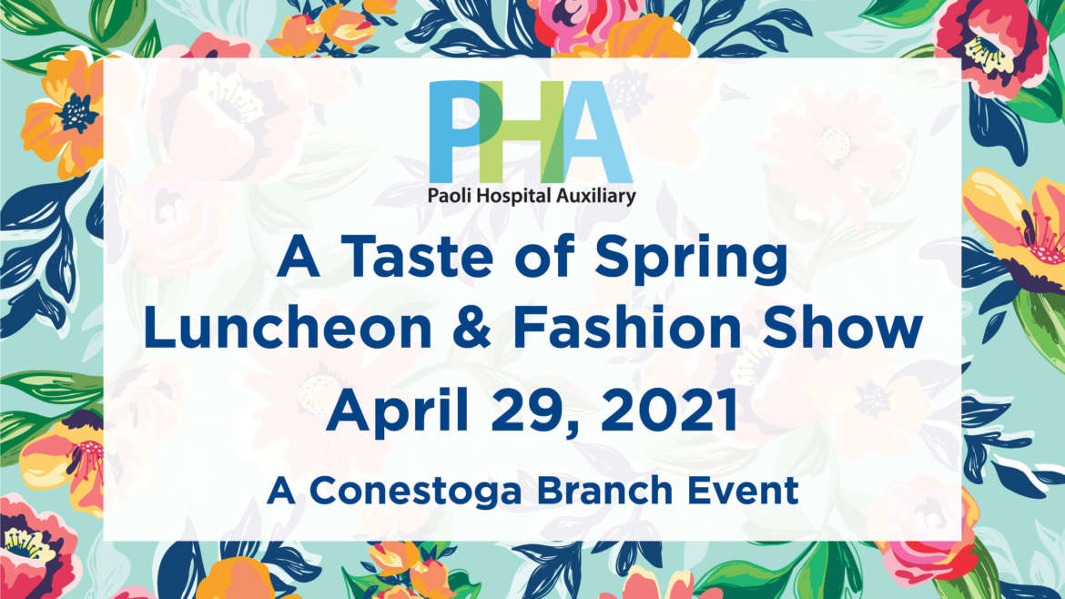 A Taste of Spring Luncheon & Fashion Show