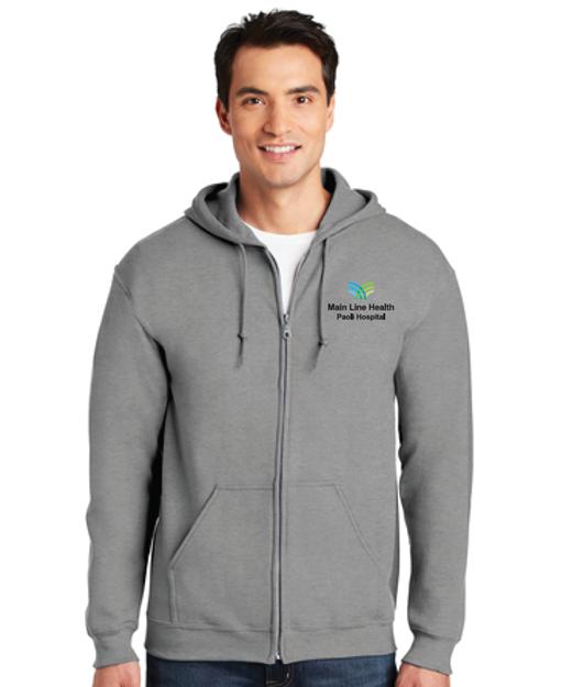 Gildan-Heavy Blend  <br>Full-Zip Hooded Sweatshirt