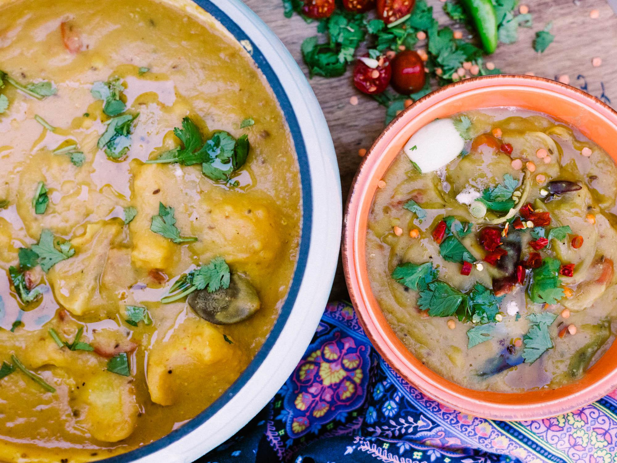 South Indian Tiffin Sambar - Let's Taco Bout it Blog