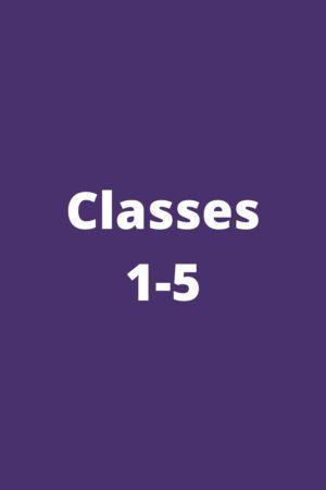 Classes 1-5
