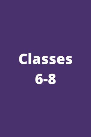 Classes 6-8