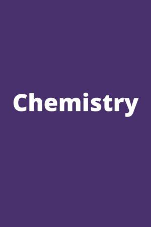 Chemistry (XI-XII)