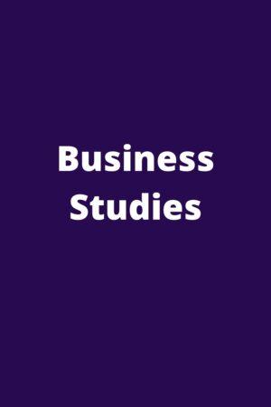 CBSE 11-12 Business Studies