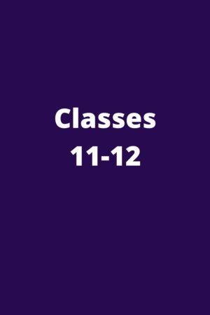CBSE Class 11-12